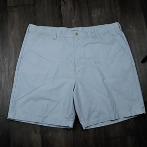 Croft & Barrow 44 Chino Shorts Pale Blue 4 Pockets